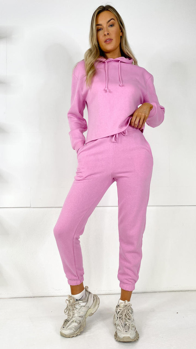 Pieces Pink Joggers