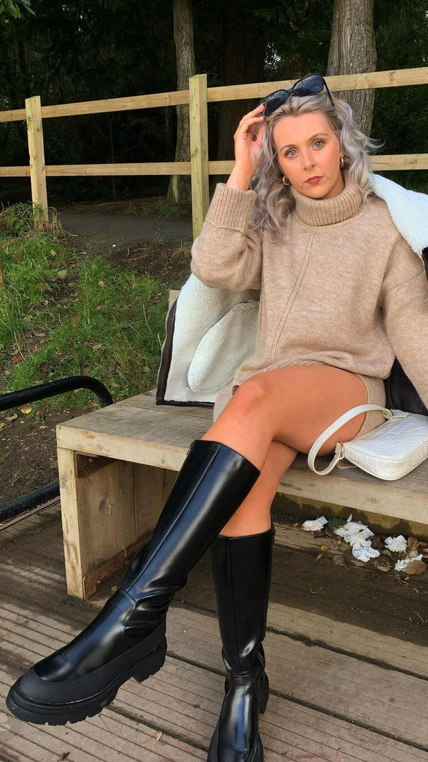 Get That Trend Only Black Faux Leather Biker Boots