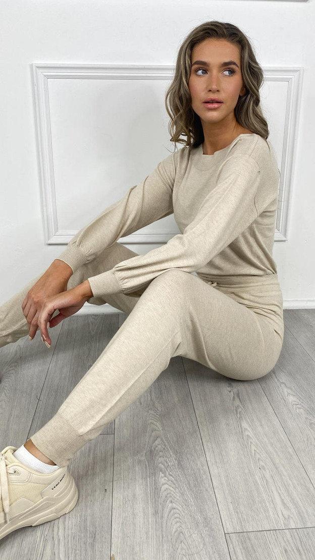 Only Cream Cozy Pullover Knit