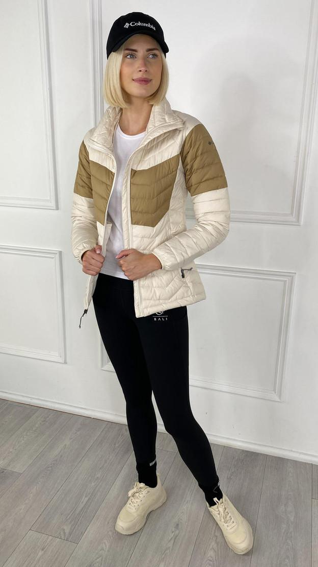 Columbia Women's Powder Lite™ Blocked Jacket In Chalk