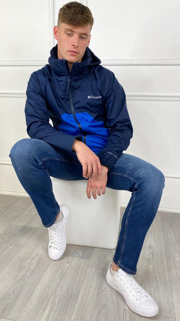 Columbia Men's Rain Scape™ Jacket In Navy