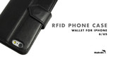 RFID Phone Case Wallet For iPhone 6/6s