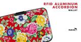 RFID Aluminum Accordion Wallet