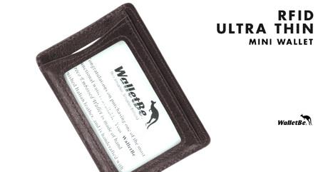 Men's RFID Ultra Thin Mini Wallet