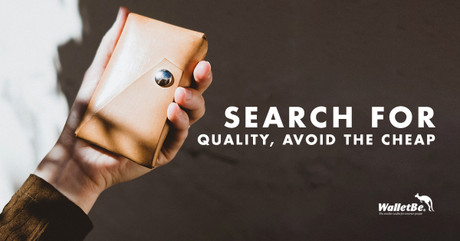 Search for Quality, Avoid the Cheap