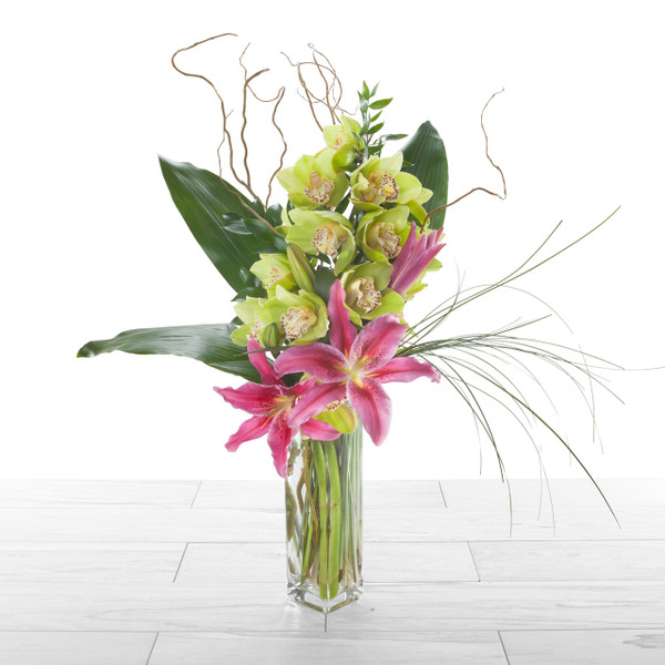 Orchids + Lilies