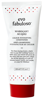 Evo Fabuloso Mahogany is ideal for dull, dry, colour-treated medium brown to dark blonde hair to achieve a mahogany/ red brown tone.