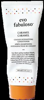 evo Fabuloso Caramel Colour Boosting Treatment 220ml tube