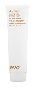 evo Uberwurst Shaving Crème 150ml - super oval tube
