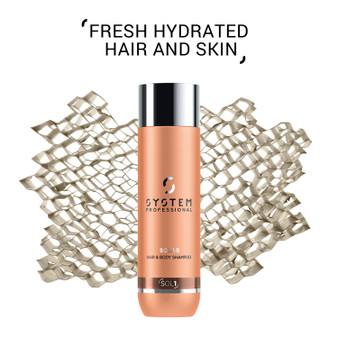 SYSPRO SOLAR Hair & Body Shampoo 250ml