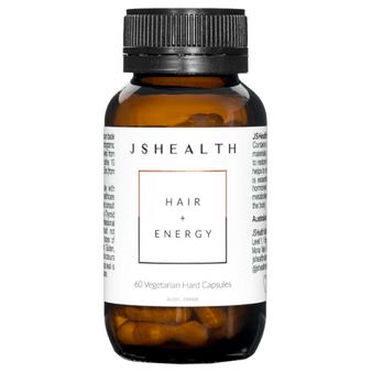JS Health 2 Month Hair + Energy 60 Capsules