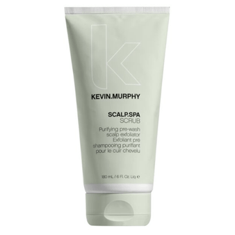 An exfoliating pre-shampoo treatment for your scalp.