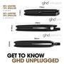 ghd Unplugged Hair Straightener - Matte Black