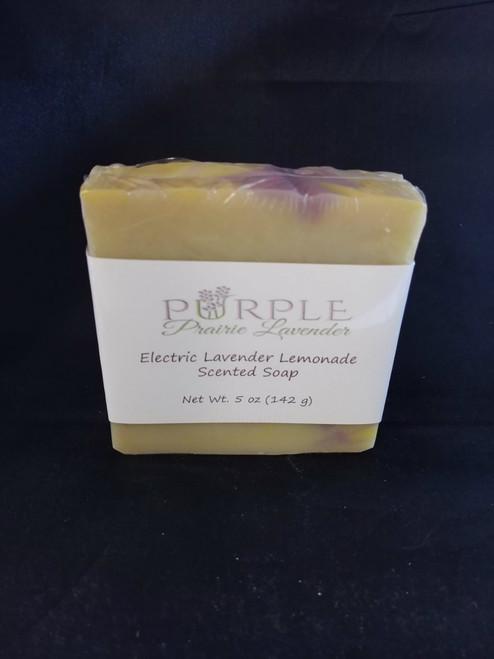 Electric Lavender Lemonade Soap