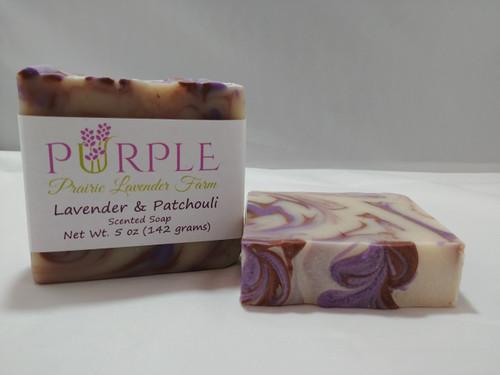 Soap Lavender and Patchouli