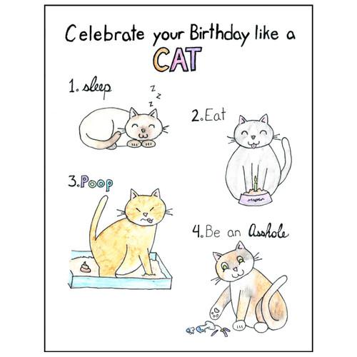 Celebrate Like a Cat