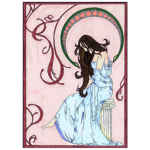 Art Nouveau Design 4 print