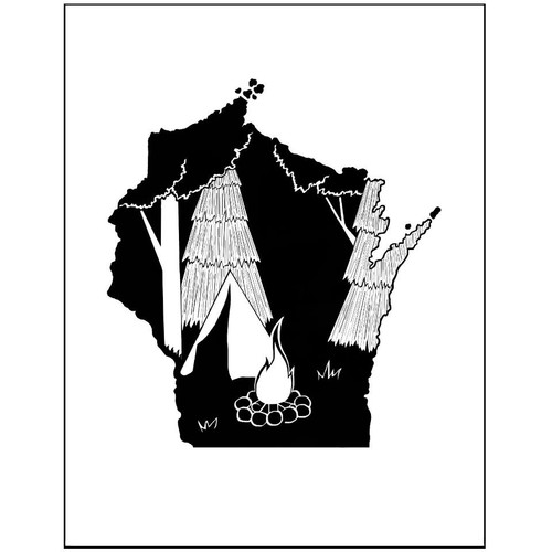Wisconsin-Camping
