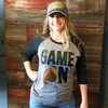 Game On Football Raglan