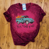 It's Fall y'all! - Bleached Maroon Tee