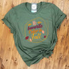 My favorite Color is Fall - Military Green Tee