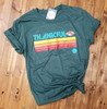Retro Thankful - Heather Forest Tee