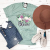 Live Life in Full Bloom - Adult Tee