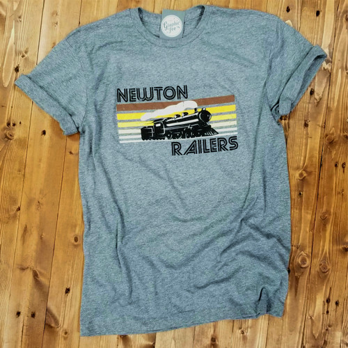 Retro Newton Railers - Adult Tee