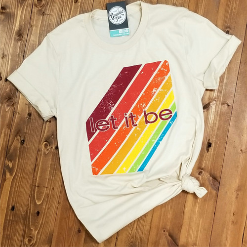 Let it Be - Natural Tee