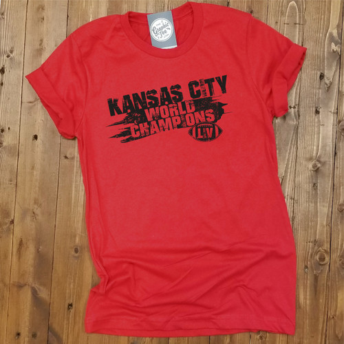 Kansas City World Champions - Red Unisex Tee