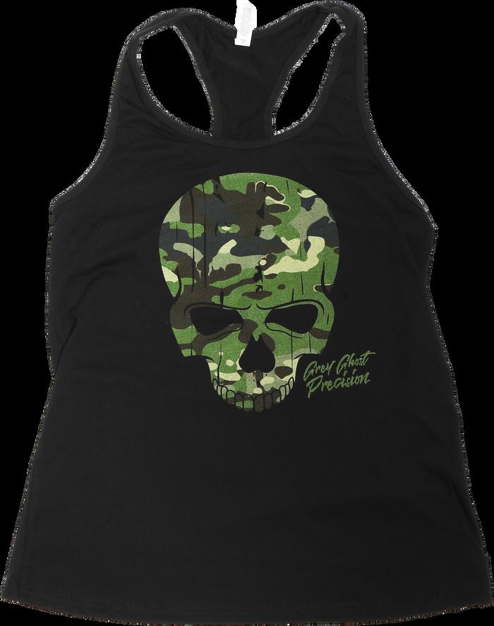 Ladies Tropic Skull Tank Top