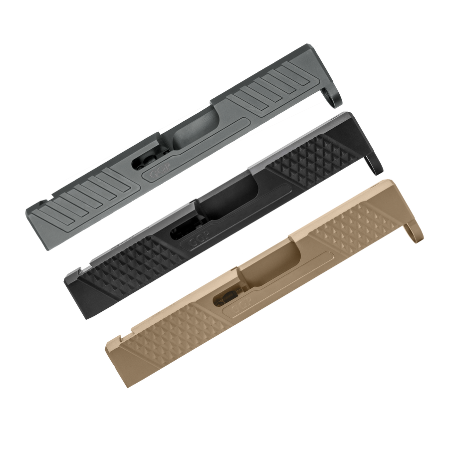 SPG43 STRIPPED SLIDE - FITS GLOCK® 43 AND 43X