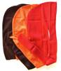 Solid Silky Du-rags Brown Orange Red