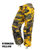 Womens Paratrooper Colored Camo Pants