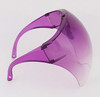 Purple Anti Fog Bubble Face Shield