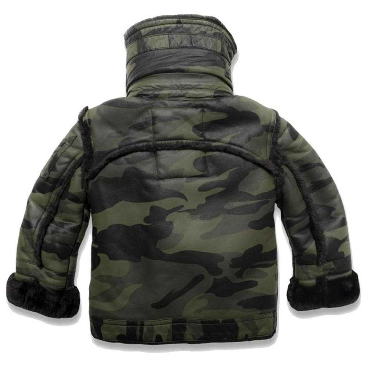 2cd3a434fec Jordan Craig Kids Camo Jacket