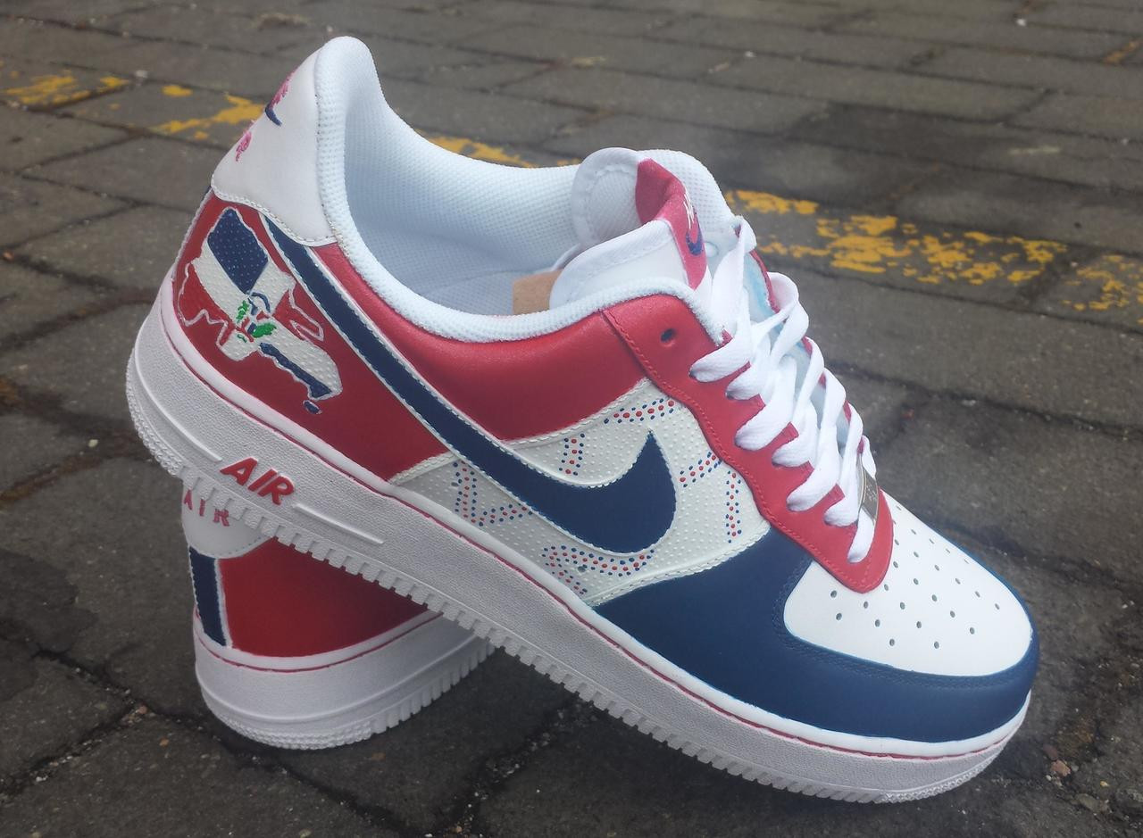 brand new 1074b 1a17a Dominican Custom Air Force Ones Sneakers