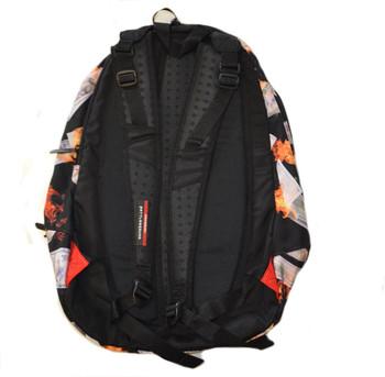 Sprayground Fire and Money Backpack B623