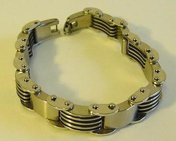 Stainless Steel Bars Bracelet