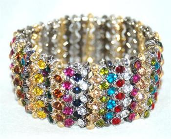 Colored Stones Bracelet