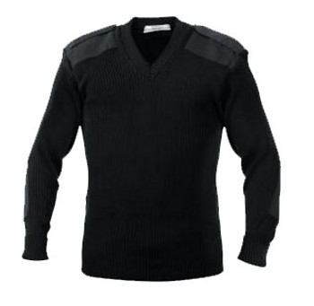 Army Muscle V-Neck Top TOS style Sweater
