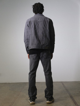G Gator Mens Gray Denim Jean Suit
