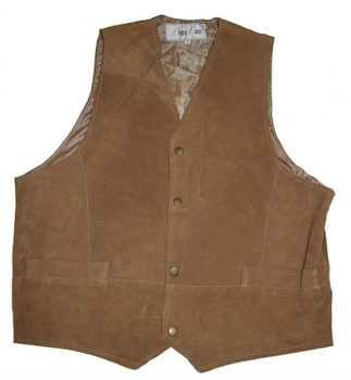 Need That Rose Gold Tan Suede Vest