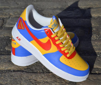 Superman Custom Air Force One Sneakers
