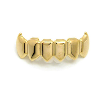 Gold Fang Bottom Grillz