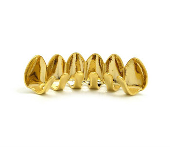 Gold Teeth Grillz