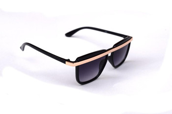 Black Gold Bar Sunglasses