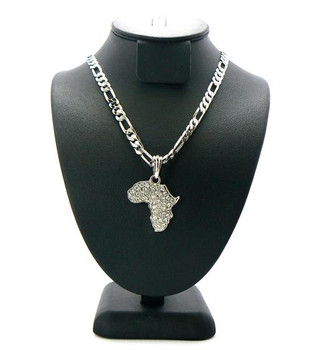 Silver Africa Figaro Chain