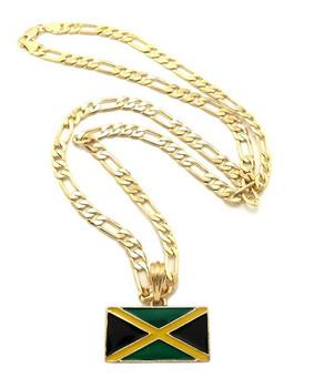 Gold Jamaica Link Chain