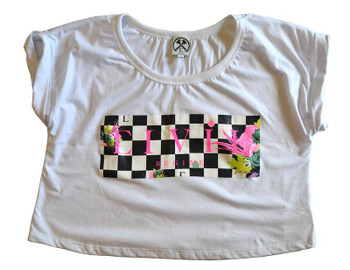 Civil Ladies Fast Lane Box Crop Top